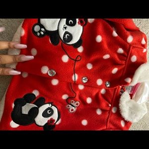 Fleece toddler set